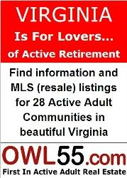 active adult communities in va