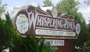 Whispering Pines Manufactured Home Community Kissimmee FL