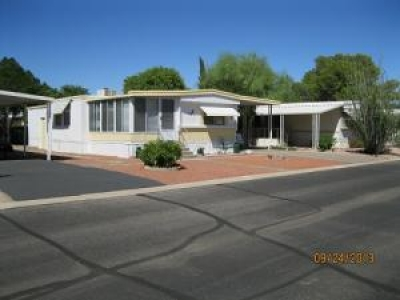 MOVE IN, PARK READY! PERFECT RETIREMENT/WINTER HOME.  5 STAR 55+ IN TUCSON, AZ