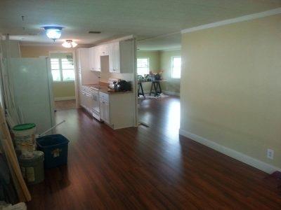 Special $8500 off Remodeled mobile home for sale in Davie big 24 x 56 (Davie florida)
