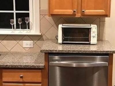 Raised dishwasher