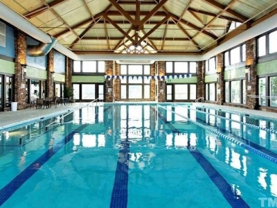 Indoor, heated pool in Bradford Hall