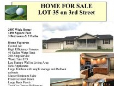 2007 Wick Home for Sale