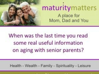 MaturityMatters.net - A place for mom, dad and you