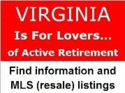 Virginia Active Adult 55+ Communities - Homes - Condos (VA)