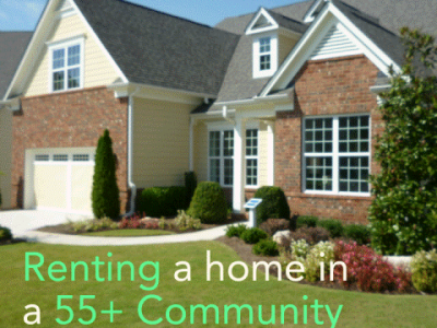 55+ Homes for Rent